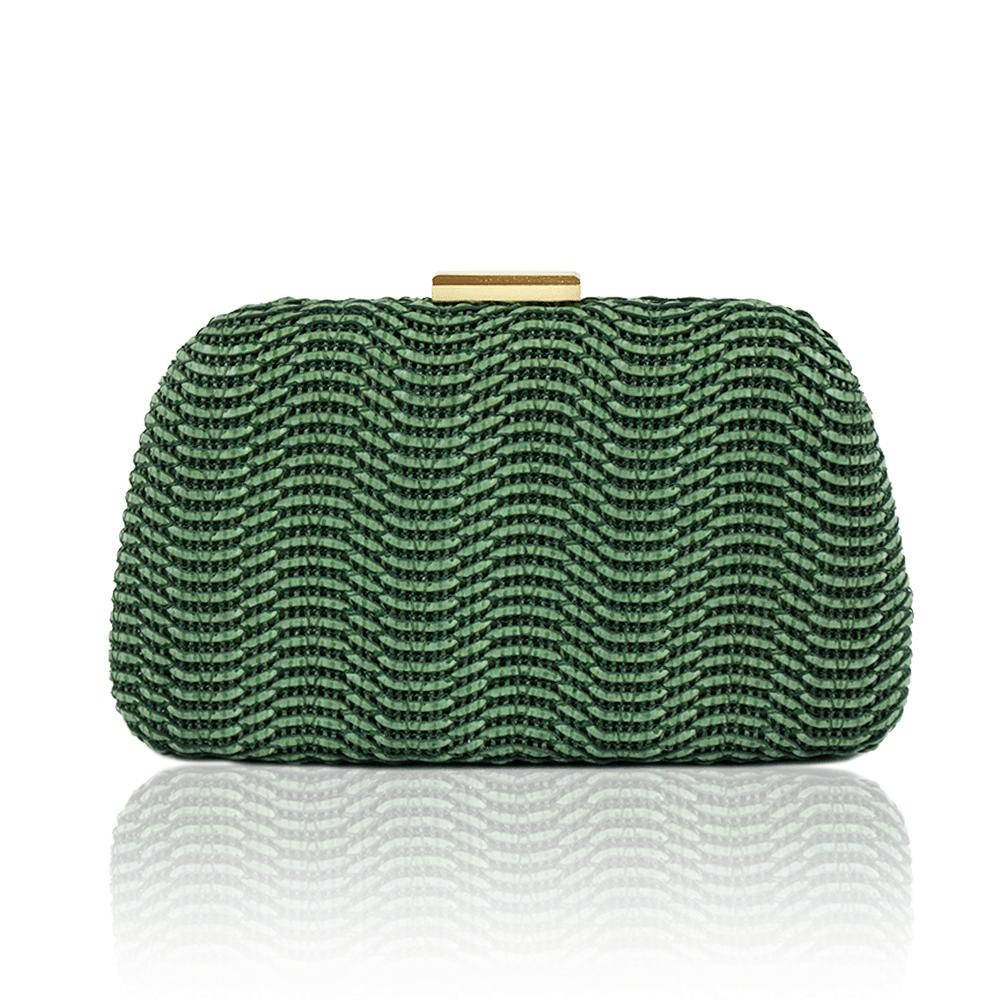 0525c0122 Bolsa Clutch Verde - rosavalverde