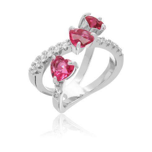 3814-anel-coraçoes-rubi-prateado