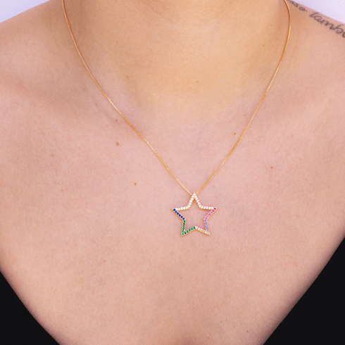 5354-colar-estrela-colorida-banhada-ouro